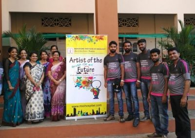 "Mio Conducted ""Artist of The Future""- Drawing Competition at Several Schools in Mangalore"