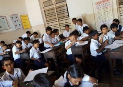"""Mio Conducted """"Artist of The Future""""- Drawing Competition at Several Schools in Mangalore"""