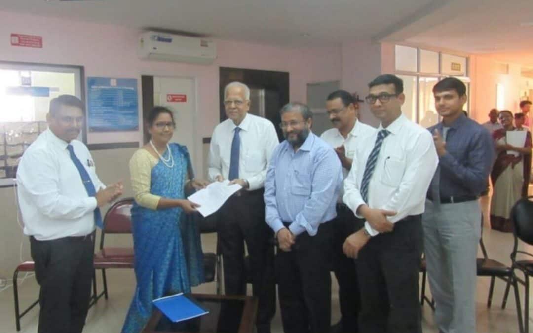 NABH Assessment Team visits MIO
