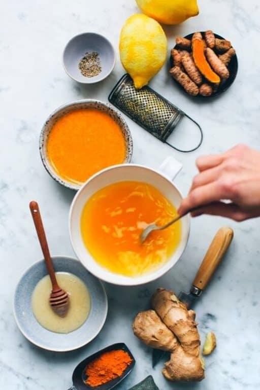 Honey & Turmeric