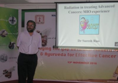 Scientific Meet On Bridging The Gap Between Modern Medicine & Ayurveda For Effective Cancer Cure