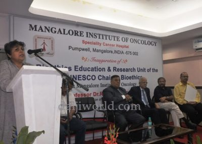 Unesco Bioethics education & research unit inaugurated at MIO