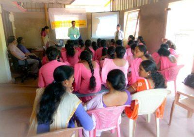 Awareness campaign for ASHA workers - Kotekar PHC