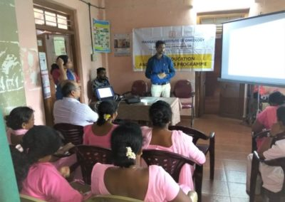Mio Conducts Cancer Awareness Programme for Asha Workers of  Bajpe Primary Health Center