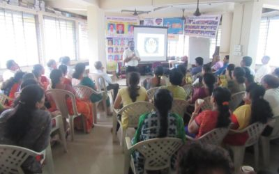 Dr Suresh Rao presented a talk to the staff of LIC, Mangalore division