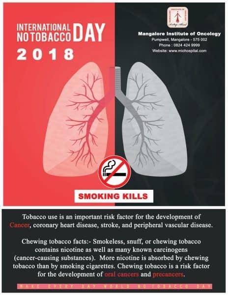 World No Tobacco Day Celebrated - MIO Hospital