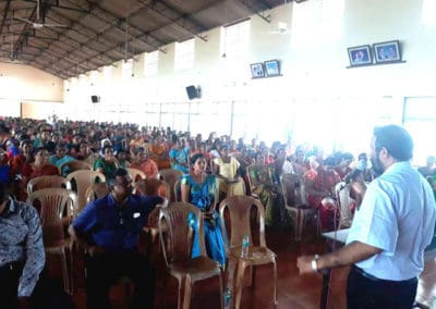Mangalore Institute of Oncology conducted a health awareness programme for the women at St Sebastian church Permannur