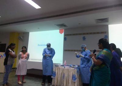 MIO staff attended the Basic Certified Professional for Hospital Infection Control(CPHIC) conducted by caho & schulke