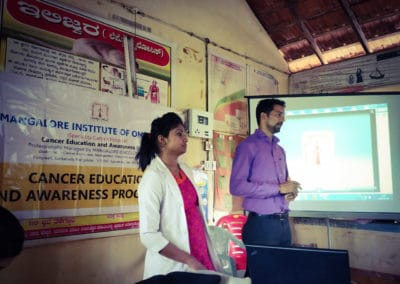 Cancer awareness/education programme for Asha workers and health assistants of Kurnad PHC