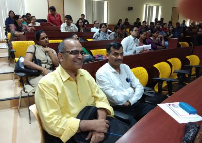 Dr MS Baliga attends one day training at Manipal