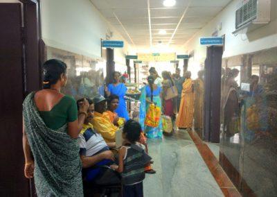First visit to Chitradurga outreach centre
