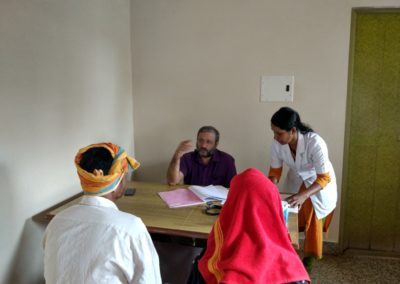 Visit to Tirthahalli outreach centre
