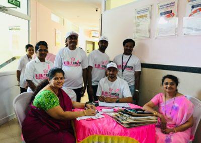 Breast cancer awareness programme at MIO
