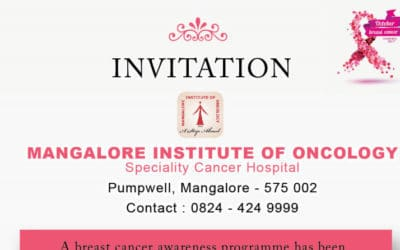 MIO conducts breast cancer awareness programme on 27th October 2018