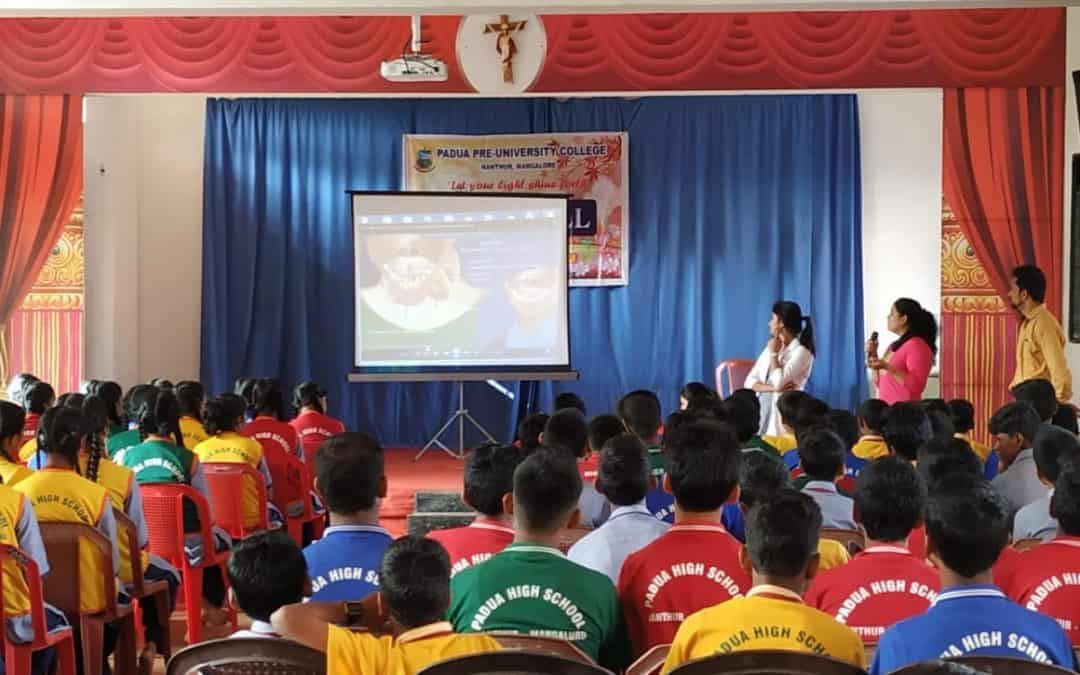 Cancer awareness programme for High school students