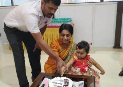 Birthday celebration at MIO