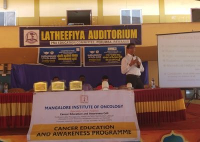 Cancer awareness programme at Payyanur