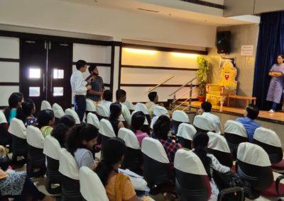 Attending a talk at Attavara