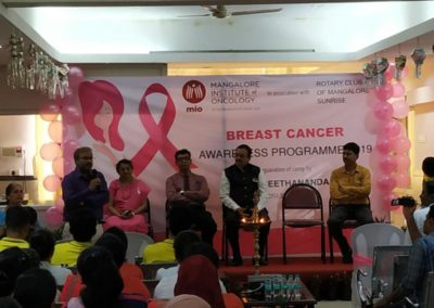 Mangalore Institute of Oncology conducts a Breast Cancer Screening Camp