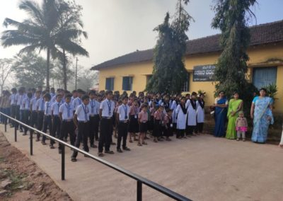 Republic Day at Karnataka Public School, Shringeri