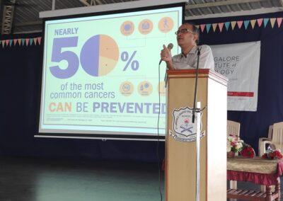 Cancer awareness talk at Bondel